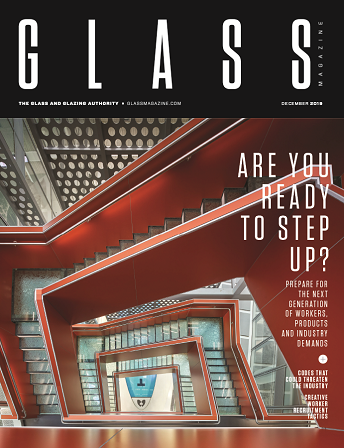December 2019 issue of Glass Magazine