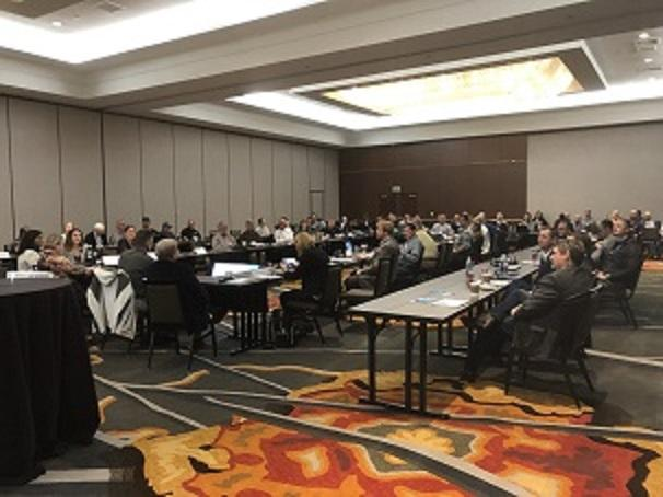 Photo of attendees at the 2020 Annual Conference