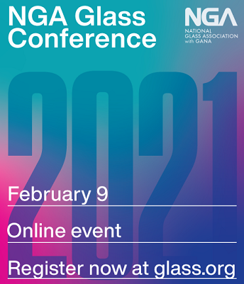 glass conference, february 9, online. Register now